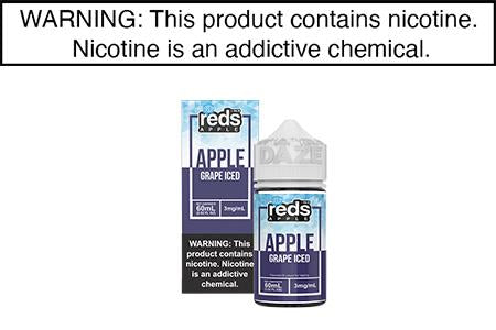 GRAPE ICED BY REDS APPLE E JUICE 60ML
