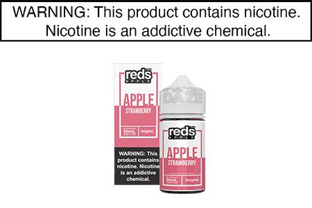 STRAWBERRY BY RED'S APPLE E JUICE 60ML