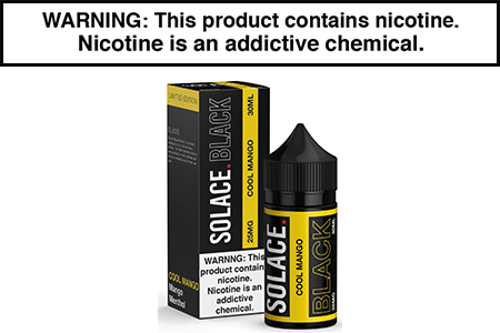 COOL MANGO BY SOLACE BLACK NICOTINE SALT