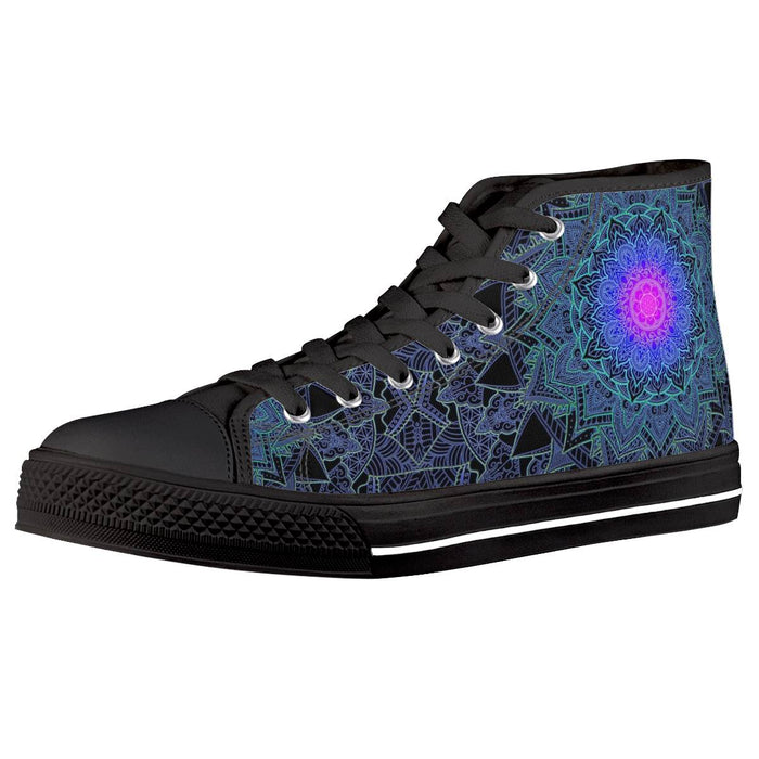 "Cameron Gray - ""Mandala Love"" High Top - Limited Edition of 111"