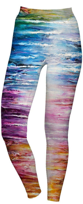 "Boundless Creations - ""Vivid"" - Active Leggings - Limited Edition of 111"