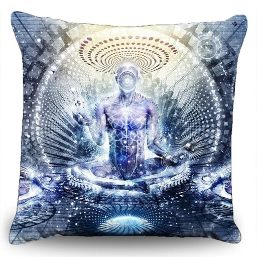 "Cameron Gray - ""Awake Could be so Beautiful"" Couch Pillow (16""x16"")"