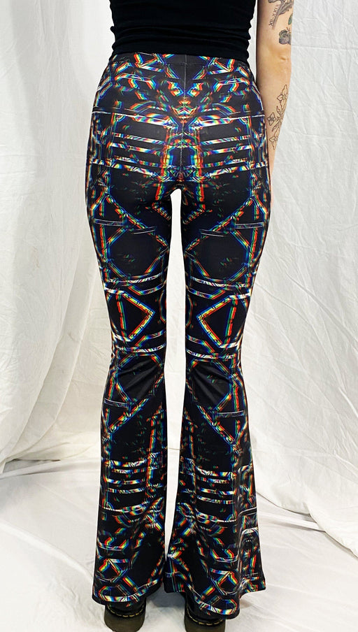 Daniel W. Prust - Rainbow Grid - Bell Flare Leggings - Limited Edition of 33