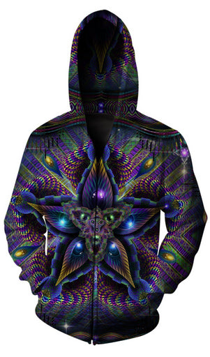 Hakan Hisim - Cerebral Moksha Zip Up Hoodie - Limited Edition of 33