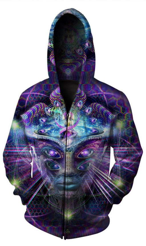 Hakan Hisim - Divine Moment of Truth Zip Up Hoodie - Limited Edition of 33