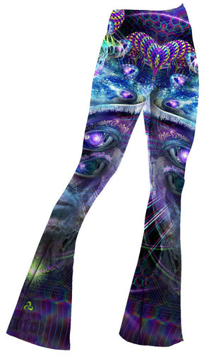 Hakan Hisim - Divine Moment of Truth Bell Flare Leggings - Limited Edition of 111