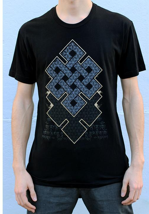 Rythmatix - ENDLESS KNOT MEN'S (BLACK) T-SHIRT