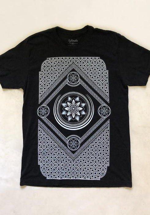 Rythmatix - ETERNAL SERIES (black/white) T-SHIRT
