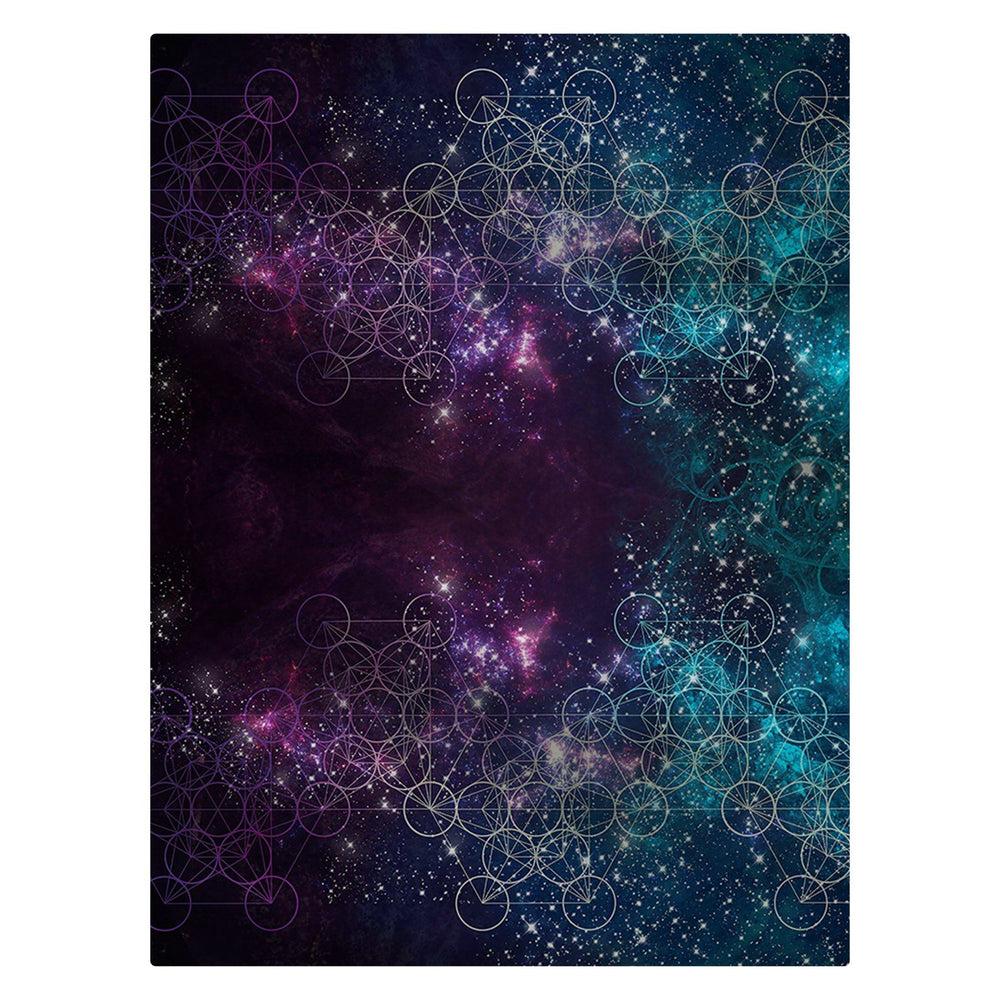 "Monique Munoz - ""Galaxy"" 60""x80"" Fleece Blanket"