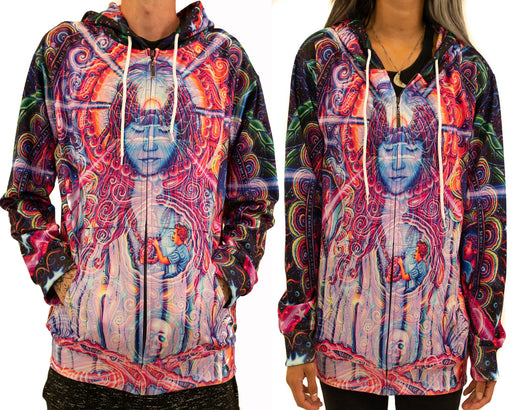 NEW! Limited Edition of 33 - John Speaker - Guardian's Grace - Zip Up Hoodie