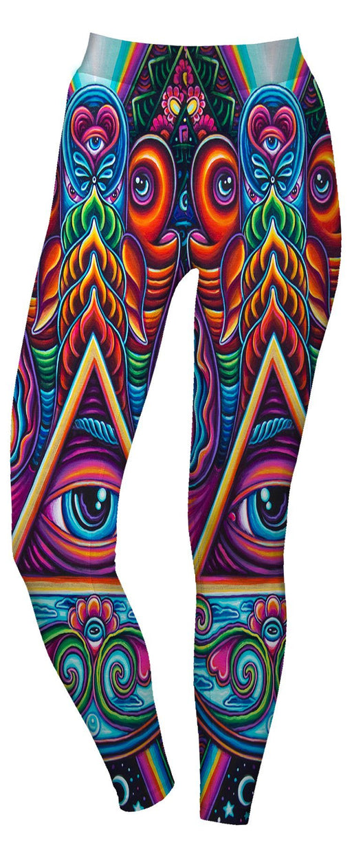 John Speaker - Hamsa Hands Active Leggings - Limited Edition of 111