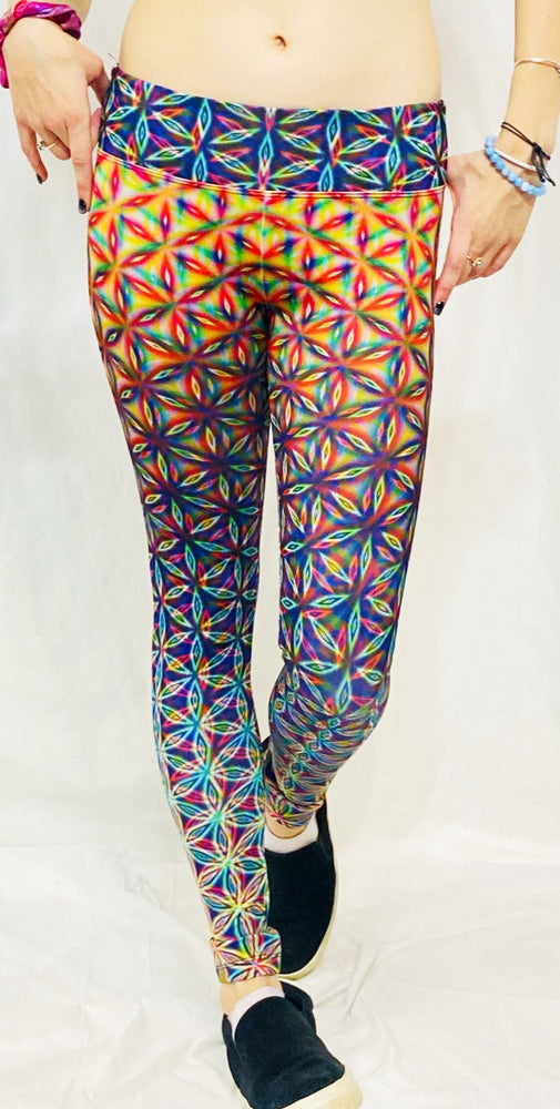 "PatternNerd - ""Existence"" - Active Leggings - Limited Edition of 111"