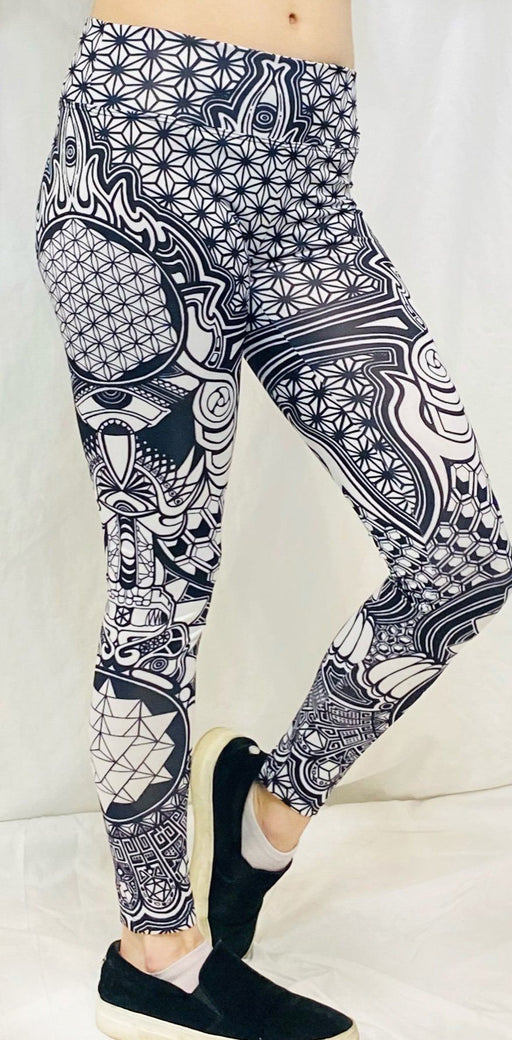 Grokko - The Messenger Active Leggings - Limited Edition of 111