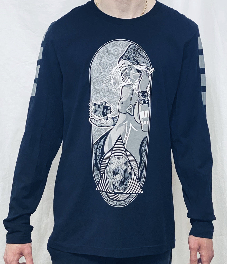 First Earth - Saturn Calling Long Sleeve T-SHIRT