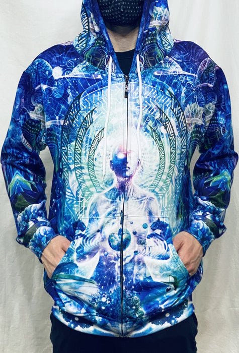 "Cameron Gray - ""Observers Of The Sky"" - Zip Up Hoodie - Limited Edition of 111"