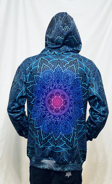 Cameron Gray - Mandala Love Zip Up Hoodie - Limited Edition of 111