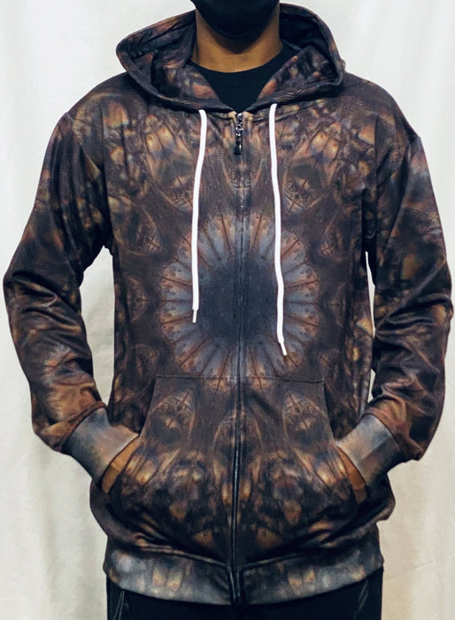 "PatternNerd - ""Isness"" - Zip Up Hoodie - Limited Edition of 111"