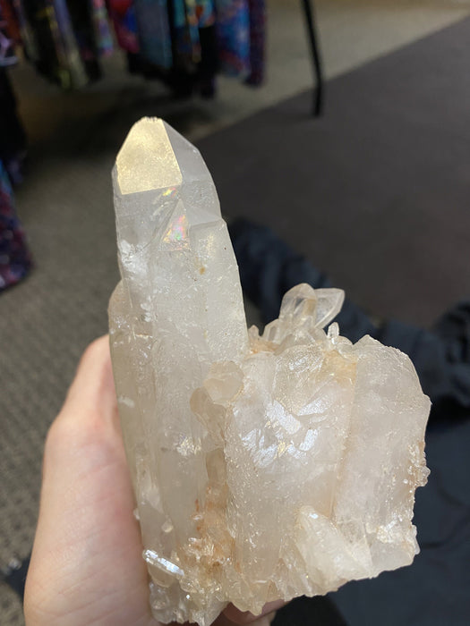 Quartz Crystal (Raw) Clusters/Points - Large