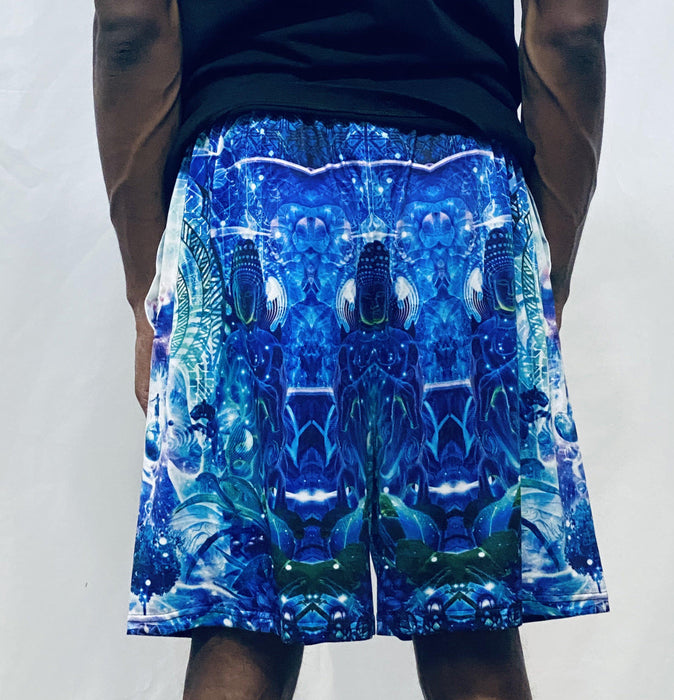 "Cameron Gray - ""Observers Of The Sky"" - Gym Shorts - Limited Edition of 111"