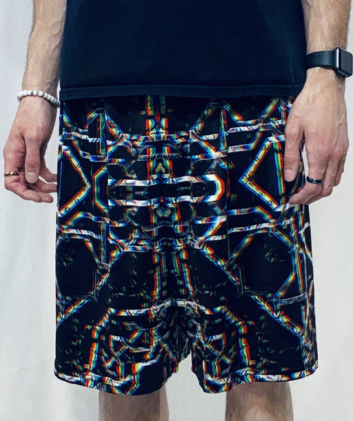Daniel W. Prust - Rainbow Grid - Gym Shorts - Limited Edition of 111