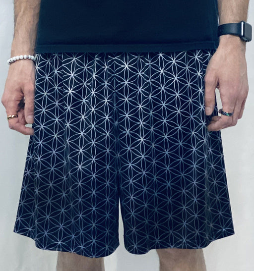 Flower of Life Gym Shorts