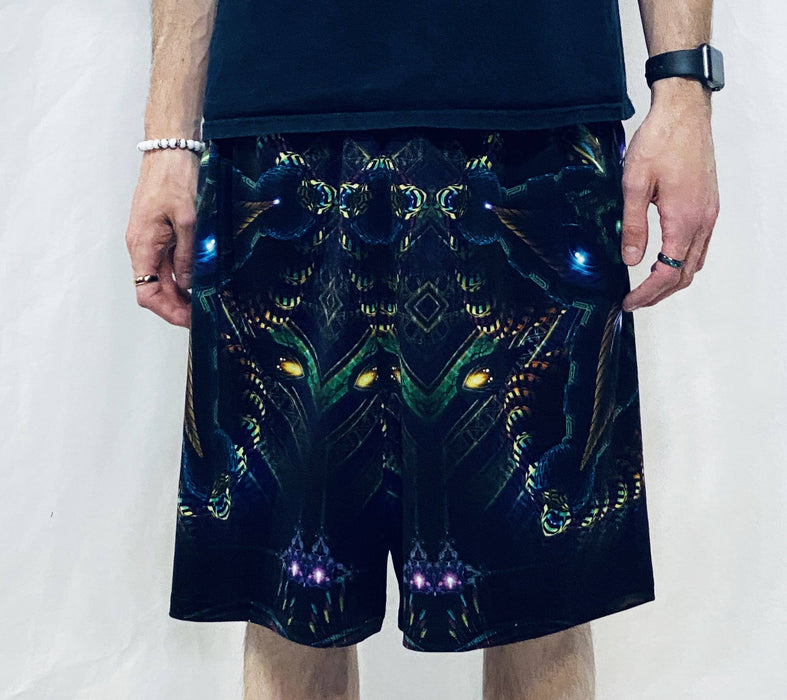 Hakan Hisim - Cerebral Moksha Gym Shorts - Limited Edition of 111