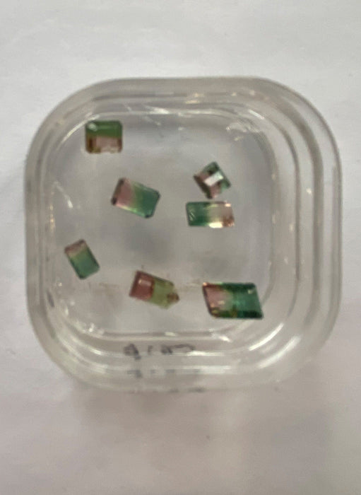 Bi / Tri Colored Tourmaline - For Jewelry & Wraps - This Row Forty