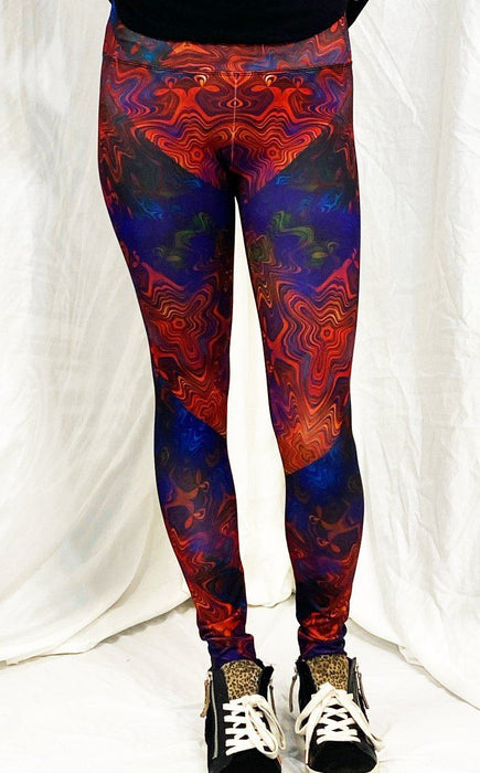 Daniel W. Prust - Technicolor Splash - Active Leggings - Limited Edition of 111