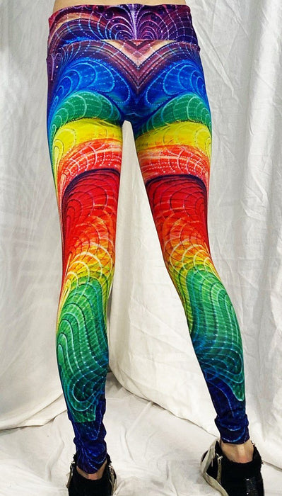 "Synaptic Art - ""Kamadeva"" - Active Leggings - Limited Edition of 33"
