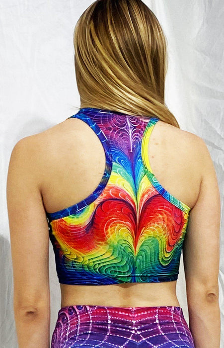 "Synaptic Art - ""Kamadeva"" - Women's Active Top"