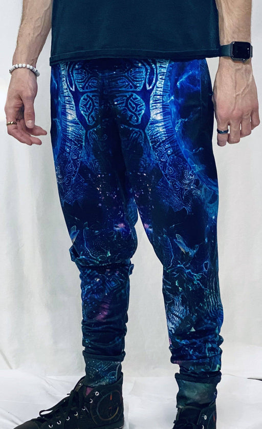 Limited Edition of 111 - Cameron Gray - Gratitude for The Earth and Sky Joggers (with pocket zippers)