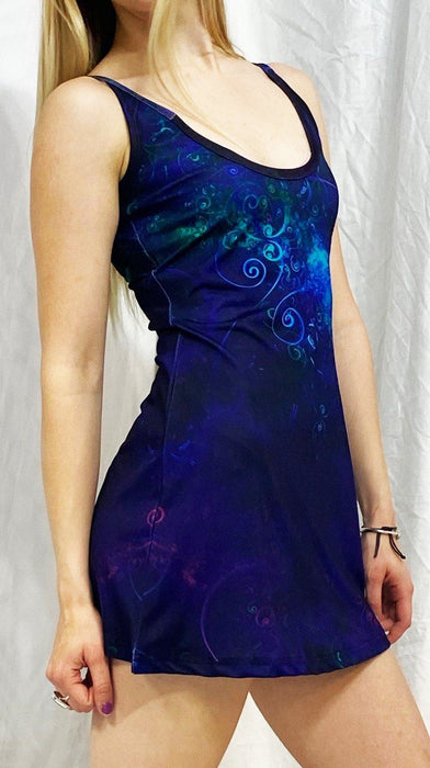 "Cameron Gray - ""Jungle Night Sky"" - Dress - Limited Edition of 111"