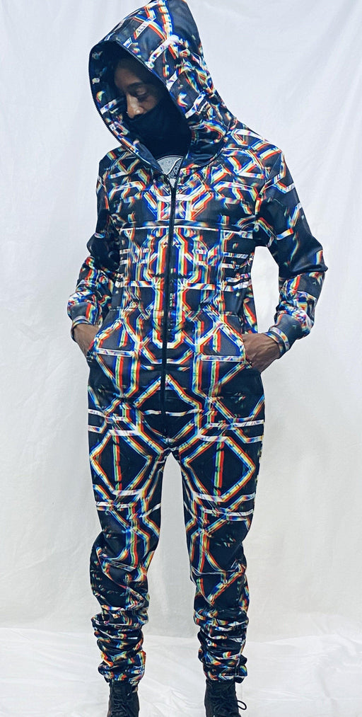 "Daniel W. Prust - ""Rainbow Grid"" Onesie - Limited Edition of 33"