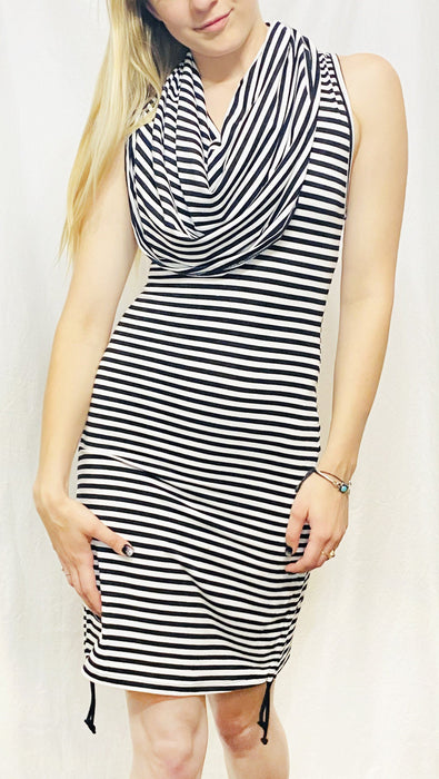 Warrior Within - Circus Stripe Bamboo Huntress Cinch Dress