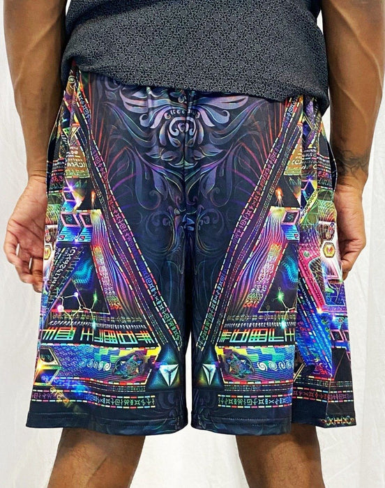 Hakan Hisim - Trinary Transcendance - Gym Shorts - Limited Edition of 111