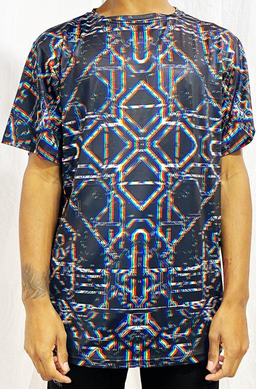 "Daniel W. Prust - ""Rainbow Grid"" T-SHIRT - Limited Edition of 111"