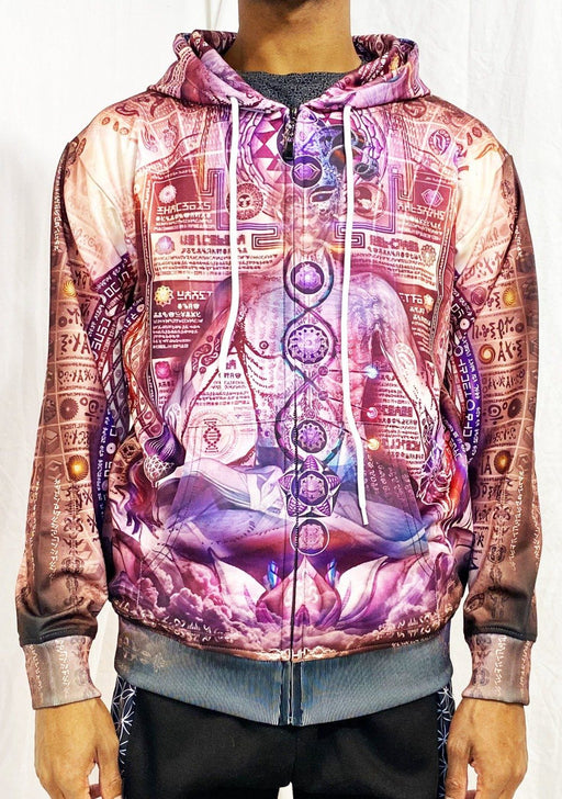 Hakan Hisim - Toroidal Tantra - Zip Up Hoodie - Limited Edition of 33