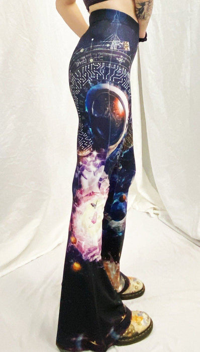 Cameron Gray - Cosmic Ritual - Bell  Flare Leggings - Limited Edition of 111