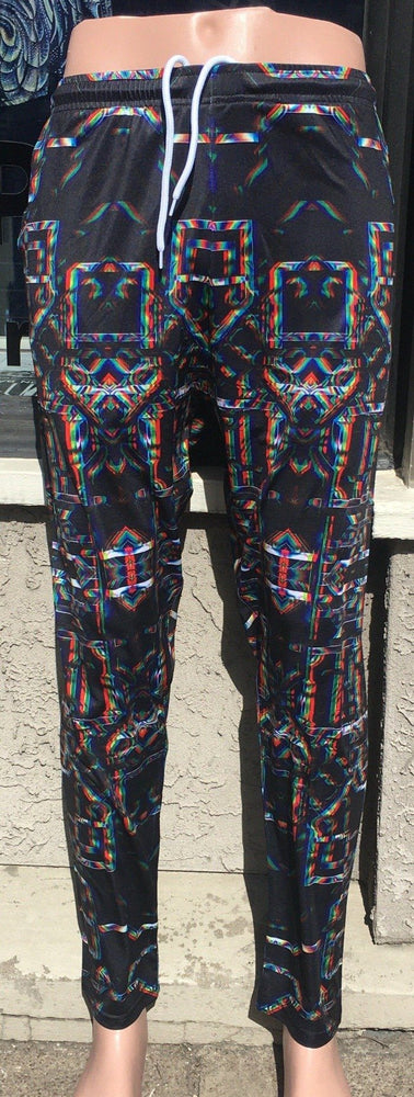 Daniel W. Prust - Rainbow Grid Flow Pants
