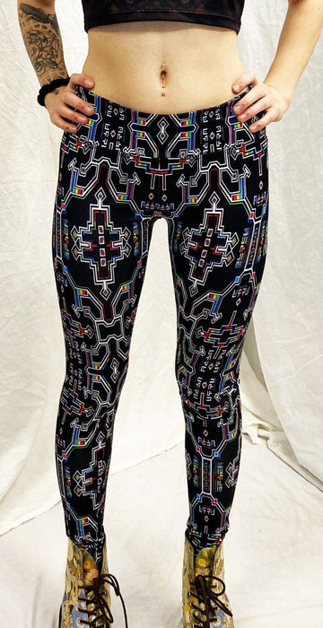 Hakan Hisim - Prismatic Grid - Active Leggings - Limited Edition of 111