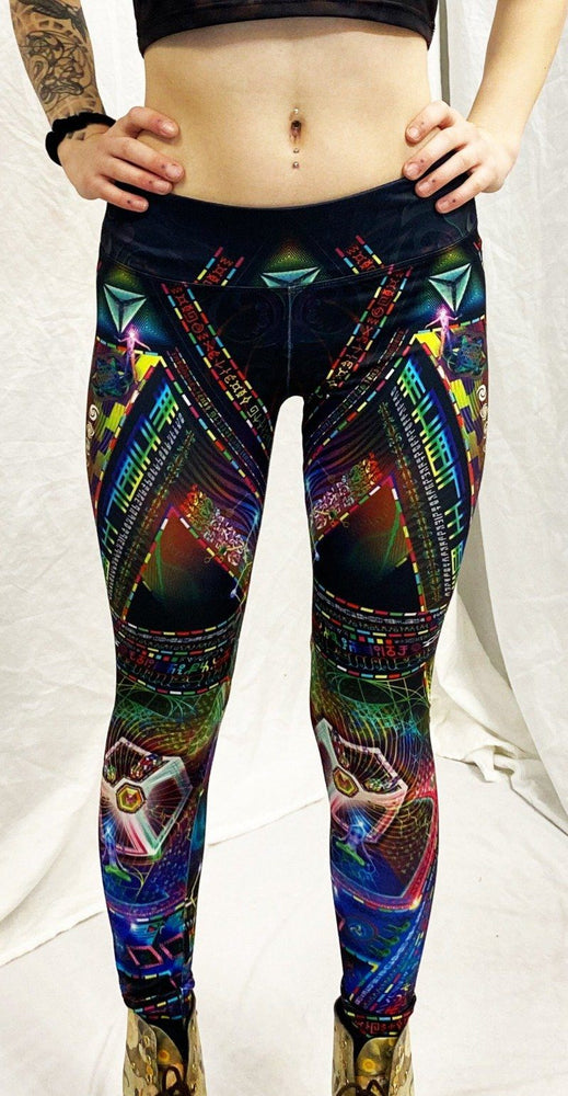 Hakan Hisim - Trinary Transcendence - Active Leggings - Limited Edition of 111