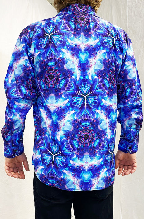 "Cameron Gray - ""Psy Vibes"" - Sublimation LS Button Up"