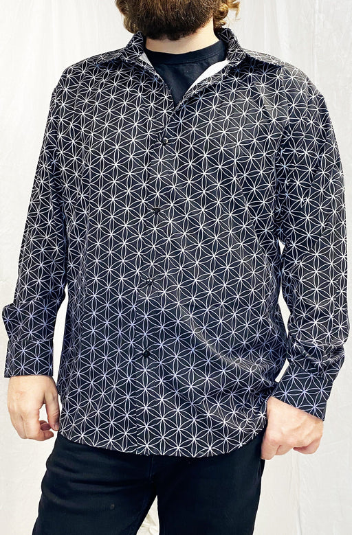 """Flower of Life"" - Sublimation LS Button Up"