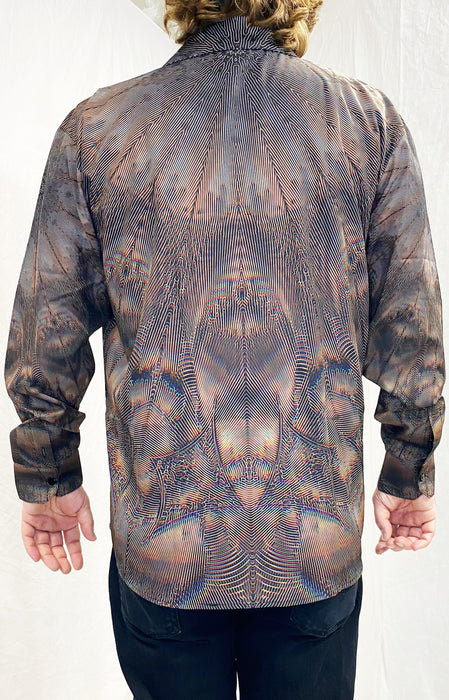 "PatternNerd - ""Isness"" - Sublimation LS Button Up"