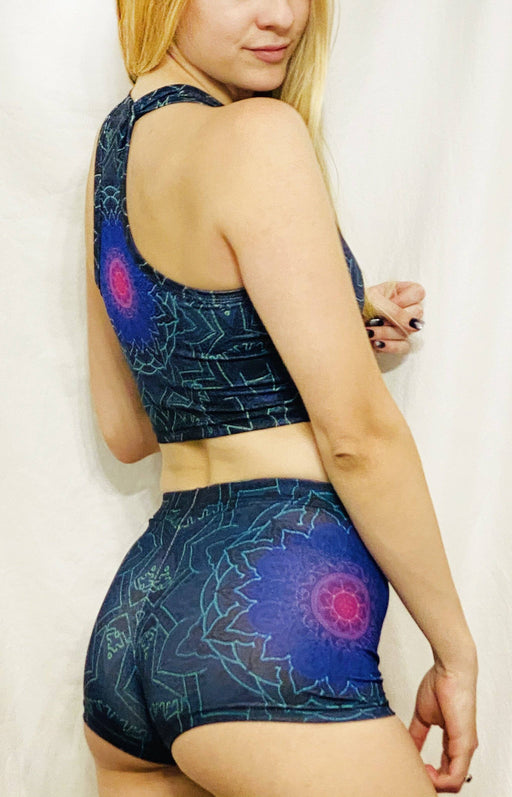 "Cameron Gray - ""Mandala Love"" - Booty Shorts - Limited Edition of 111"