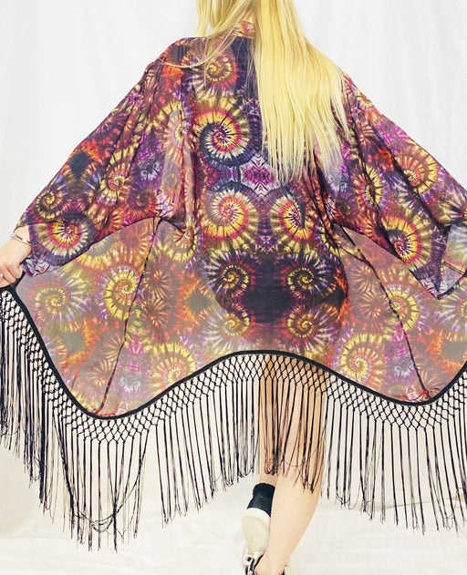 Warrior Within -  Maple Swirl Kimono - Jammin Warrior Collective
