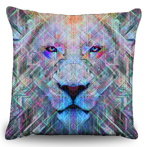 "Solstice Son - ""Imamu"" Couch Pillow (16""x16"")"