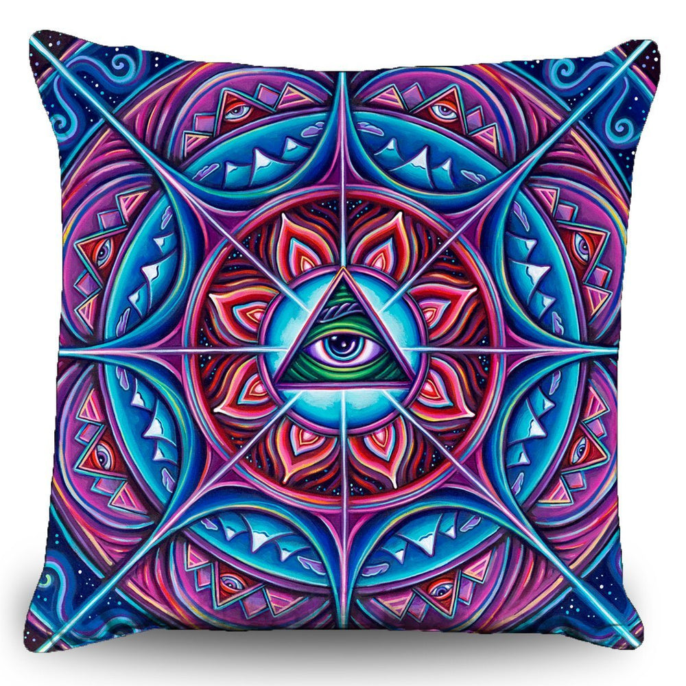 "John Speaker- ""In Bloom"" Couch Pillow (16""x16"")"