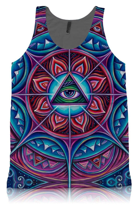 New Fabric! John Speaker - In Bloom - Tank Top - Limited Edition of 111
