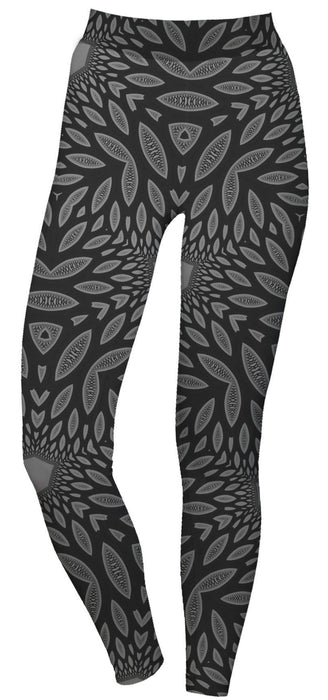 "Cameron Gray - ""Interconnection"" - Active Leggings - Limited Edition of 111"